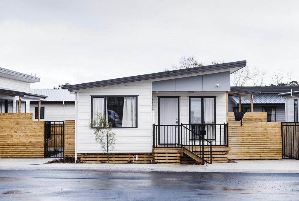 Kāinga Ora Transitional social housing
