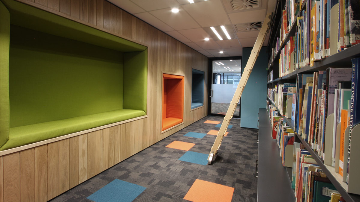 Northern Health School Library Corridor