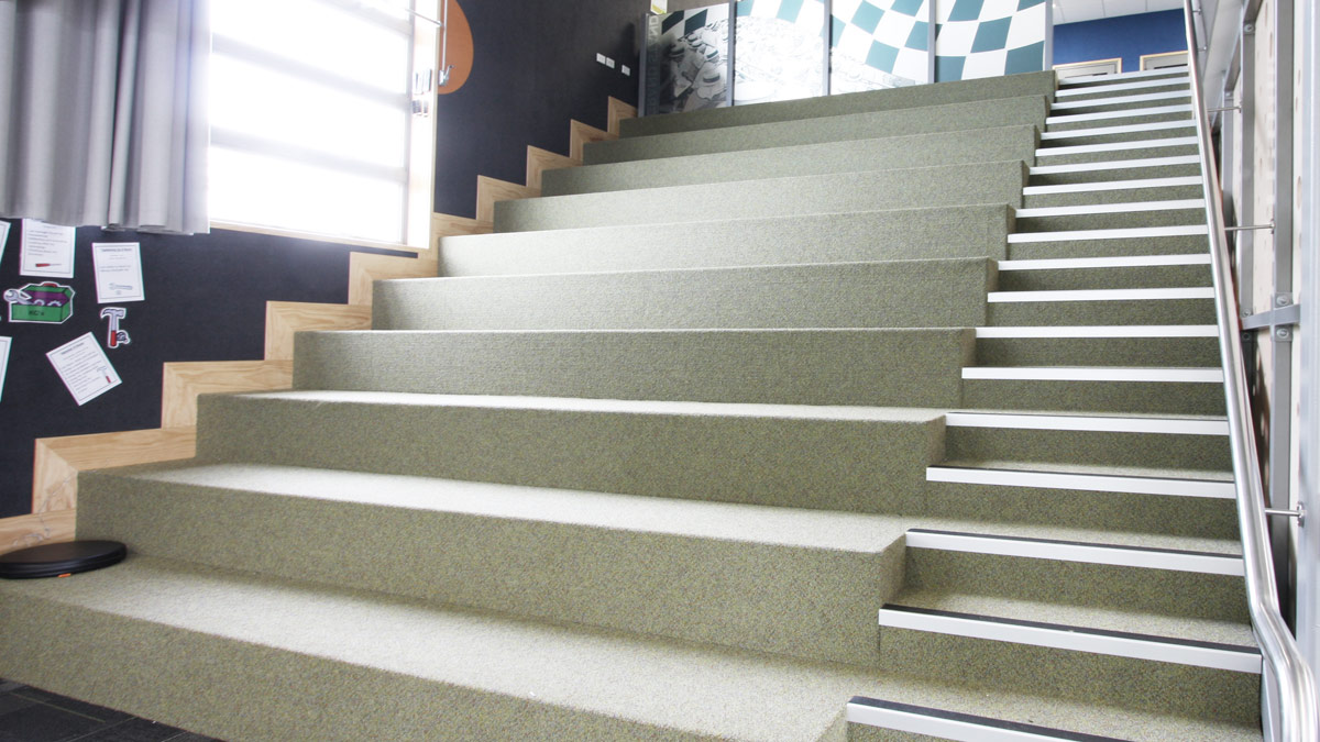 The Huapai District School Learning Stair