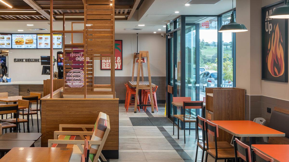 Kumeu Central Burger King Interior